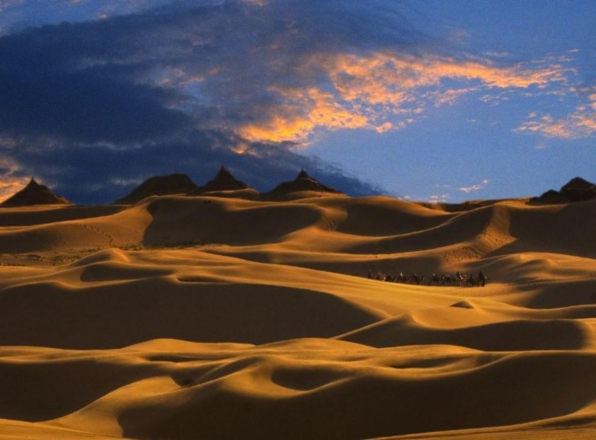 穿越中国第七大沙漠