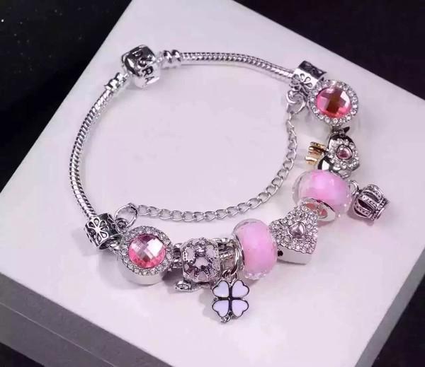 【Stone not language】New 2016 Moldbaby pandora bracelet,Creative bracelet/Pure manual polishing,love style