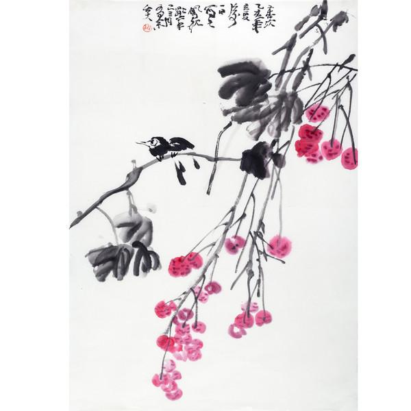 YSJYG16 颜世举收藏 赵凤砚《国画》60*98cm
